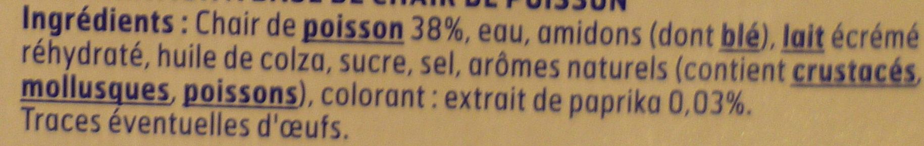 Le bâtonnet Moelleux - 9 bâtonnets - Ingrédients - fr