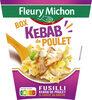 BOX KEBAB de POULET (fusilli kebab de poulet & sauce blanche) - Produit