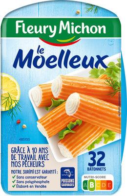 Le bâtonnet Moelleux - 32 bâtonnets - Produit