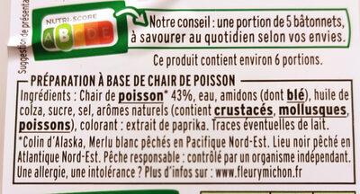 Le Moelleux - Ingrédients - fr