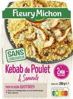 Kebab de poulet & semoule - Product