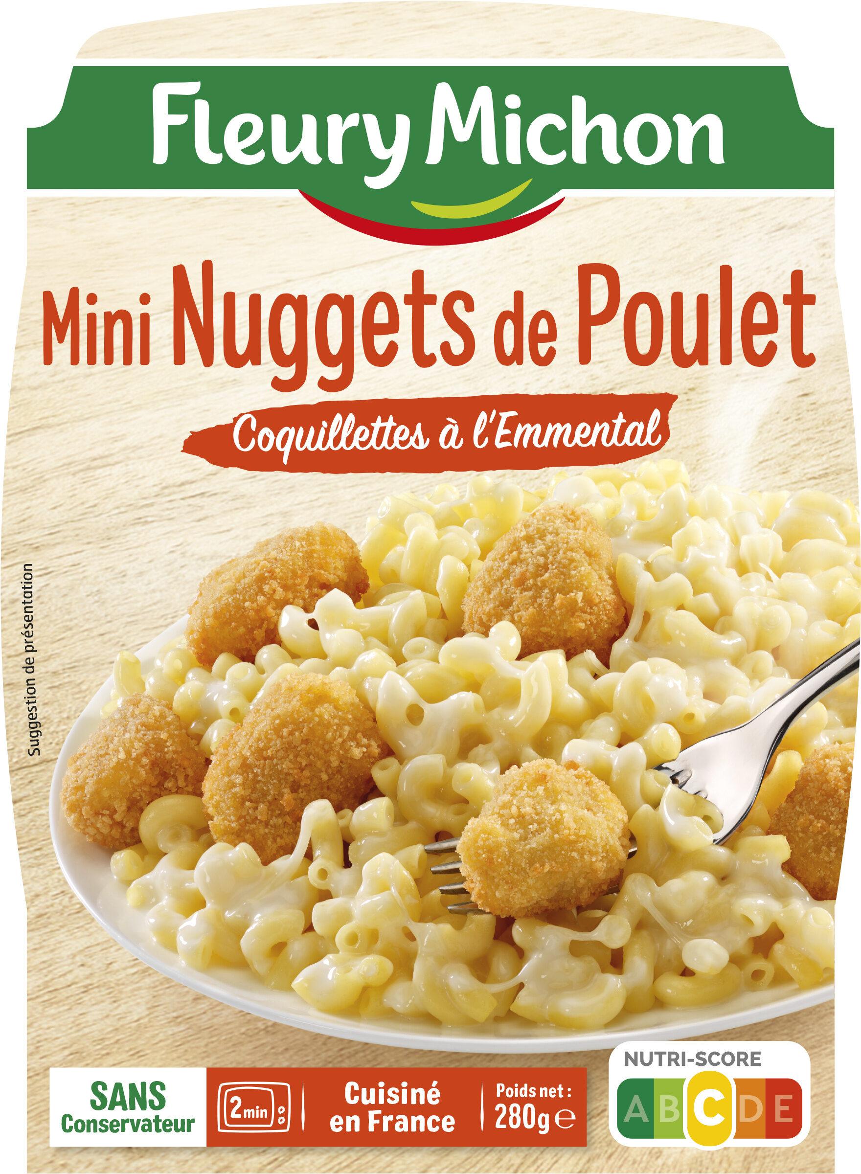 Mini Nuggets de Poulet Coquillettes à l'Emmental - Product