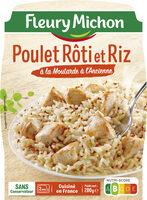Poulet Rôti et Riz à la Moutarde à l'Ancienne - Produit - fr