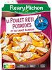 Le Poulet Rôti Potatoes et sa sauce blanche - Produit