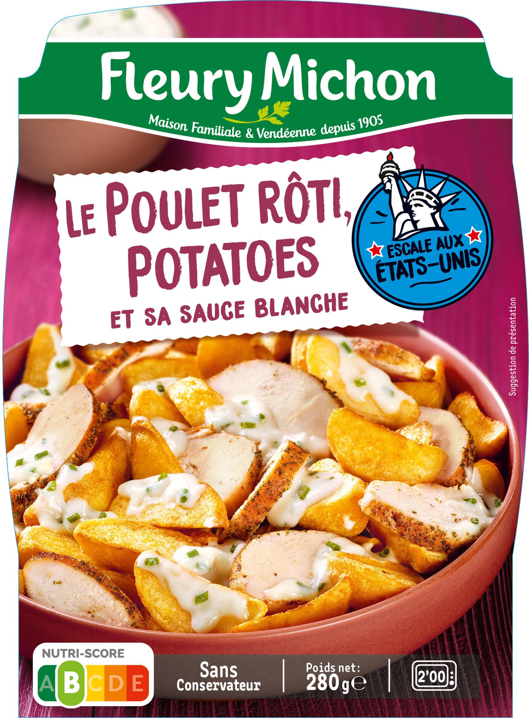Le Poulet Rôti Potatoes et sa sauce blanche - Product - fr