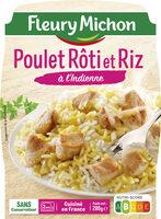 Poulet Rôti et Riz à l'Indienne - Product