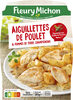 Les aiguillettes de poulet et ses pommes de terre champignons - Produit