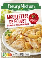 Les aiguillettes de poulet et ses pommes de terre champignons - Produit - fr