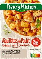 Aiguillettes de poulet, pommes de terre & champignons - Produit