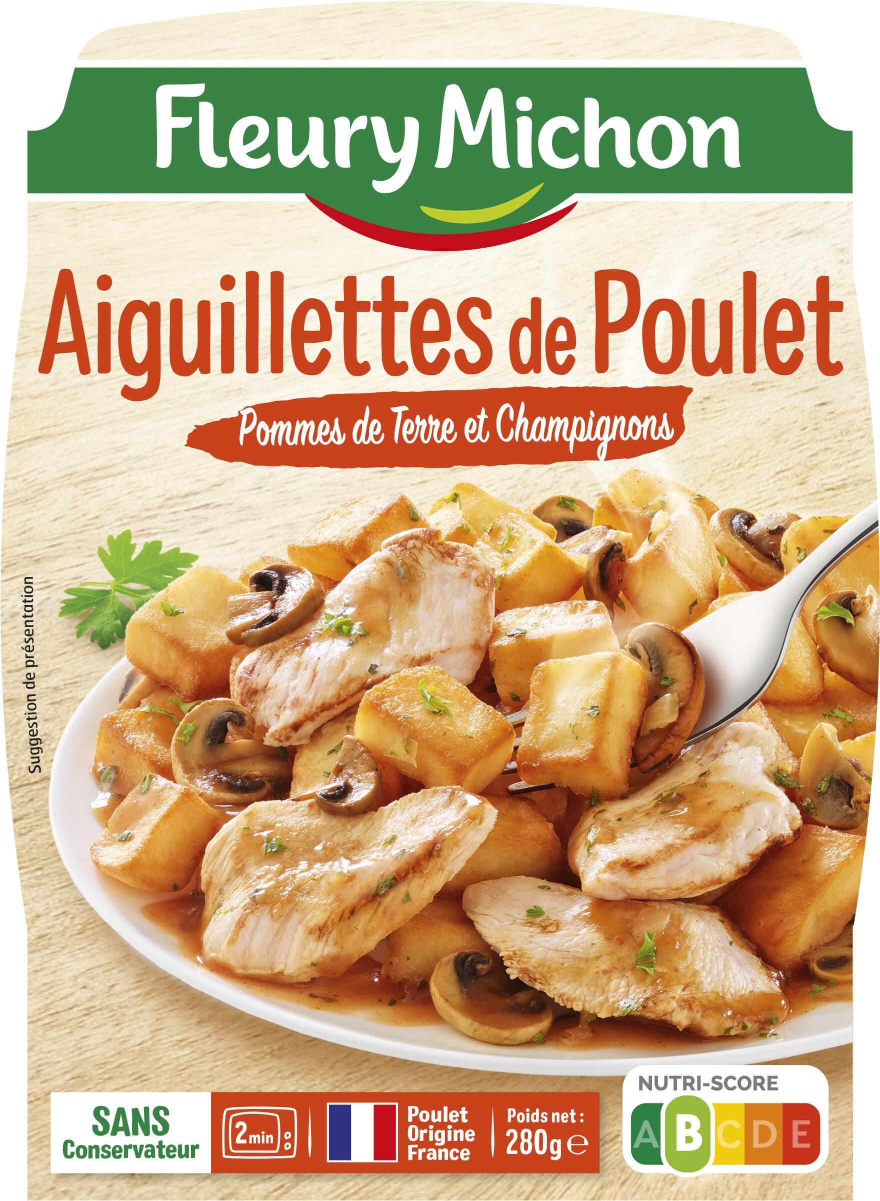 Aiguillettes de Poulet Pommes de Terre et Champignons - Produit
