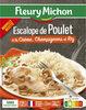 Escalope de Poulet à la Crème, Champignons et Riz - Produit