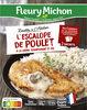 L'Escalope de Poulet à la Crème, Champignons et Riz - Produit
