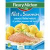 Filet de Saumon sauce béarnaise et petites pommes de terre - Produit