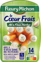 Le Coeur Frais fromage ail et fines herbes - 14 bâtonnets - Product
