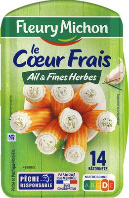 Le Coeur Frais Ail et Fines herbes - 14 bâtonnets - Product - fr