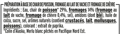 Le Coeur Frais - Chèvre - Ingredienti - fr