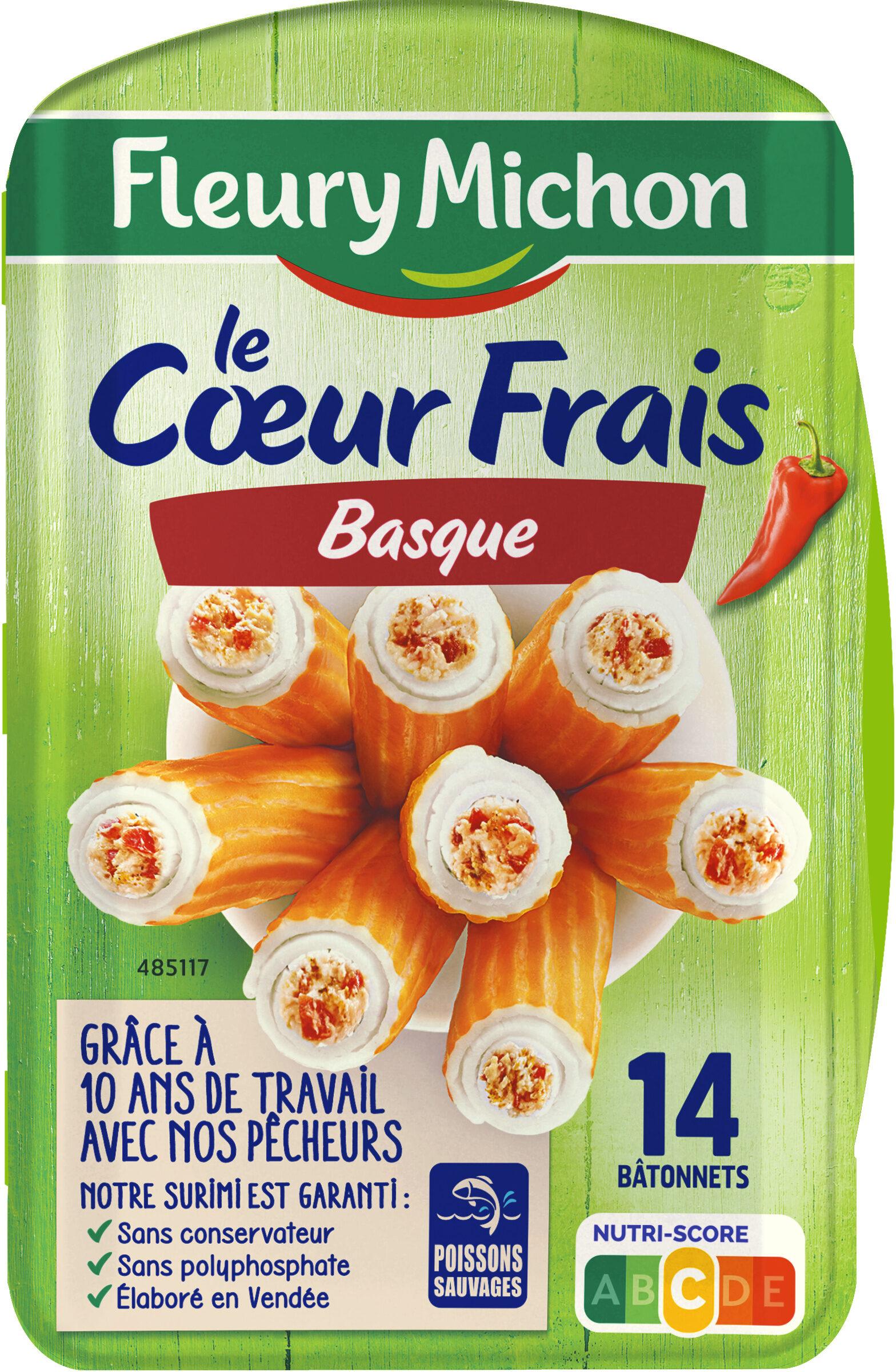 Le Coeur Frais Basque au piment d'Espelette - 14 bâtonnets - Product