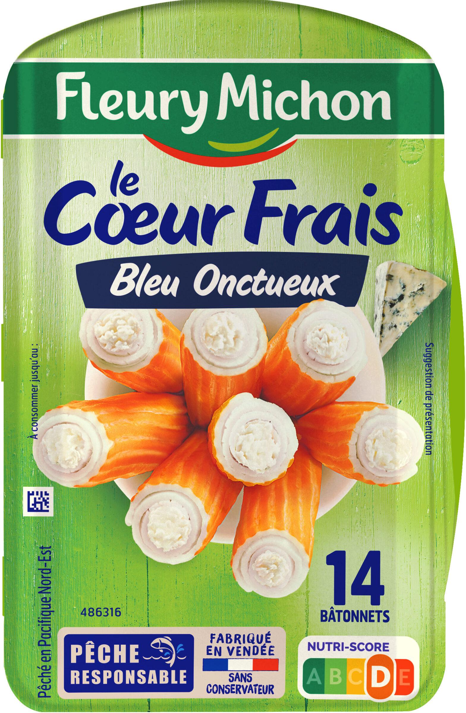 Le Coeur Frais Bleu onctueux  - 14 bâtonnets - Product - fr