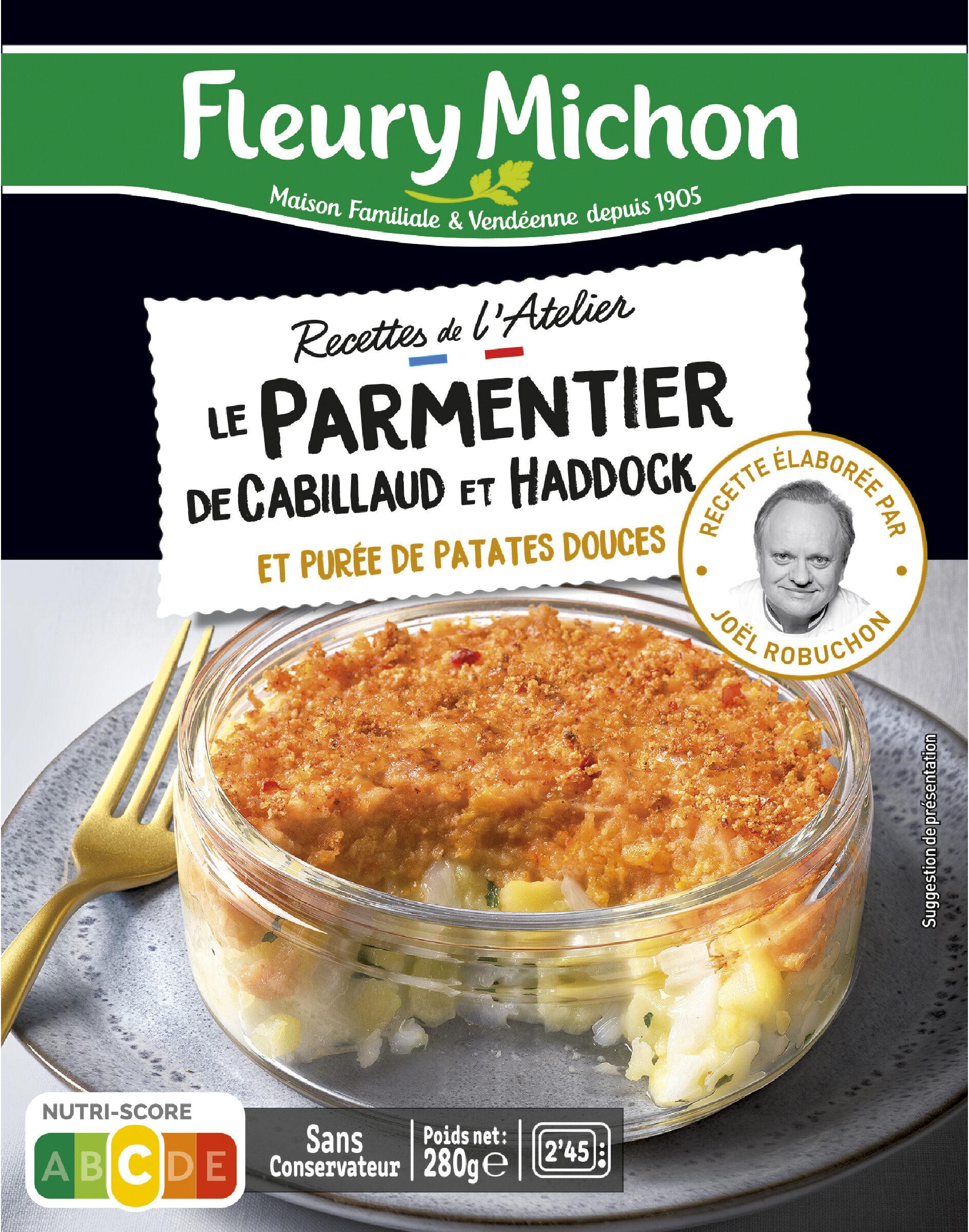 Le parmentier de cabillaud et haddock et purée de patates douces - Product - fr