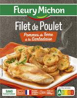 Filet de Poulet Pommes de Terre à la Sarladaise - Produkt - fr