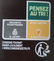 Le Filet de Poulet et ses Pommes de Terre à la Sarladaise - Instruction de recyclage et/ou informations d'emballage - fr
