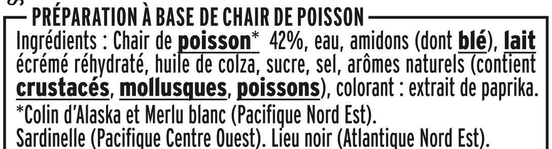 Le bâtonnet Moelleux - 24 bâtonnets - Ingredienti - fr