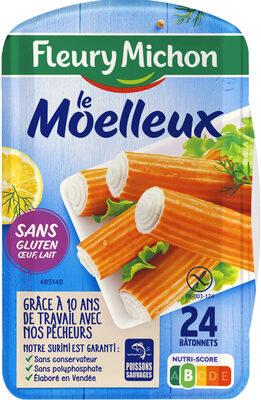 Le bâtonnet Moelleux sans gluten - 24 bâtonnets - Product