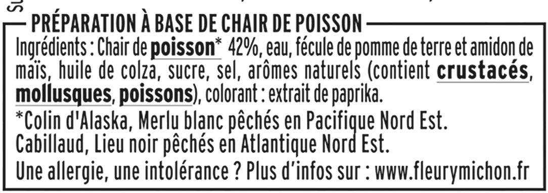 Le bâtonnet Moelleux sans gluten - 24 bâtonnets - Ingredients - fr