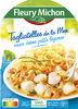 Tagliatelles de la mer, sauce crème, petits légumes - Produit