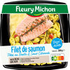 Filet de saumon pâtes au basilic & sauce citronnée - Product