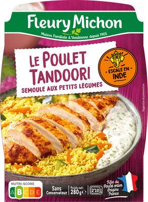 Le Poulet tandoori semoule aux petits légumes - Produit - fr