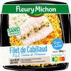 Filet de cabillaud riz & fondue de poireaux - Product
