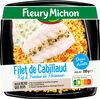 Filet de cabillaud riz & fondue de poireaux - Produit