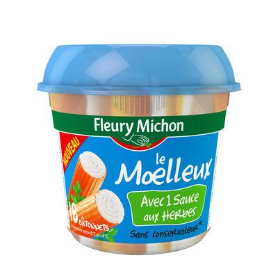 Le Batonnet Moelleux avec 1 sauce aux herbes - Produit - fr