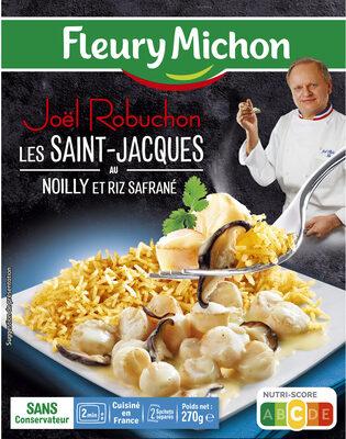 Les Saint-Jacques au Noilly et riz safrané - Product