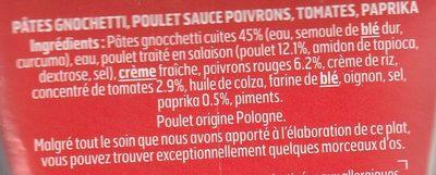 Box Spicy Chili - Ingrédients - fr