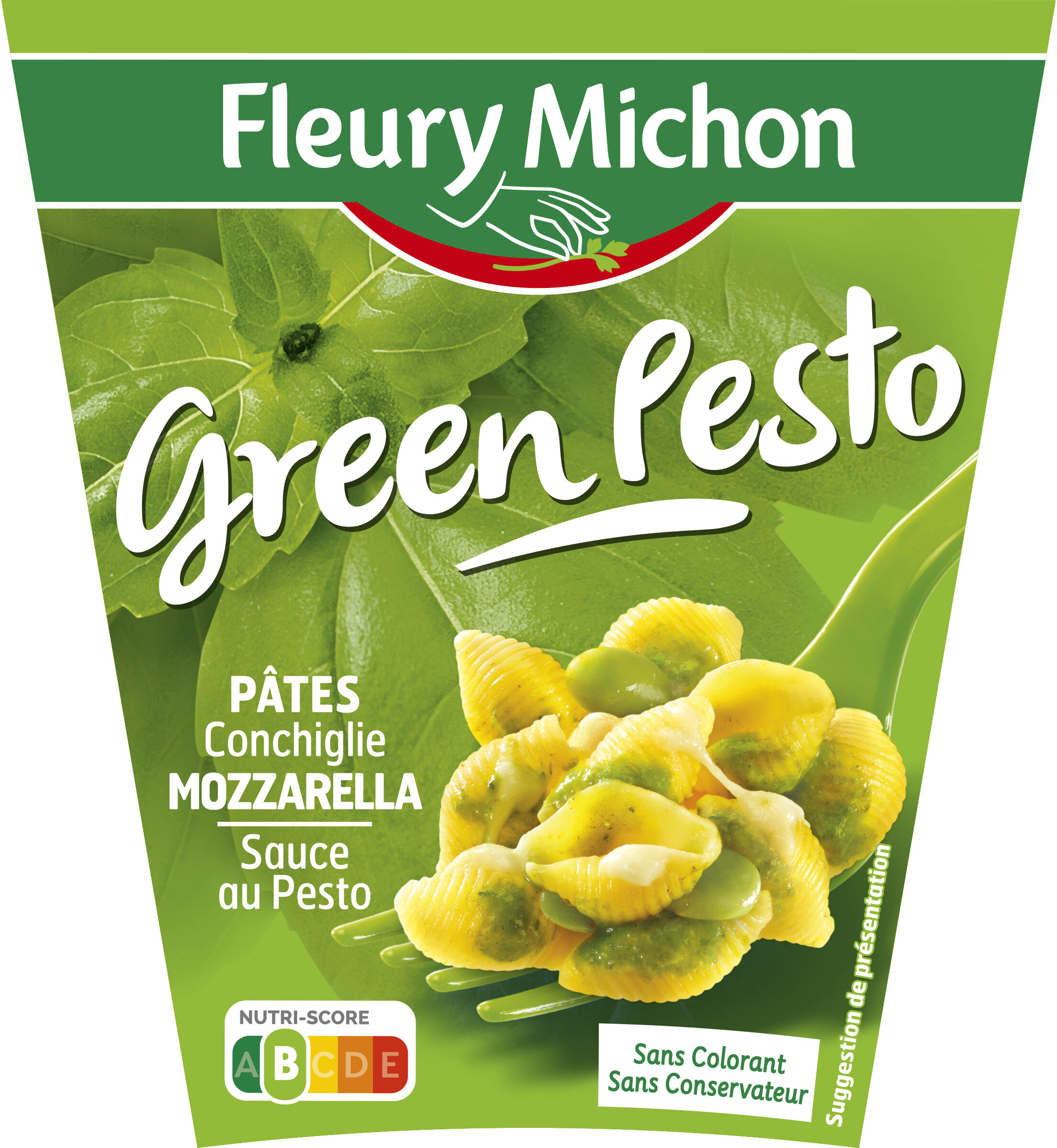 BOX Green Pesto - Product