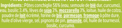 BOX Green Pesto - Ingredients