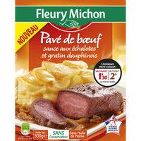 Pavé de boeuf sauce aux échalotes et gratin dauphinois - Product