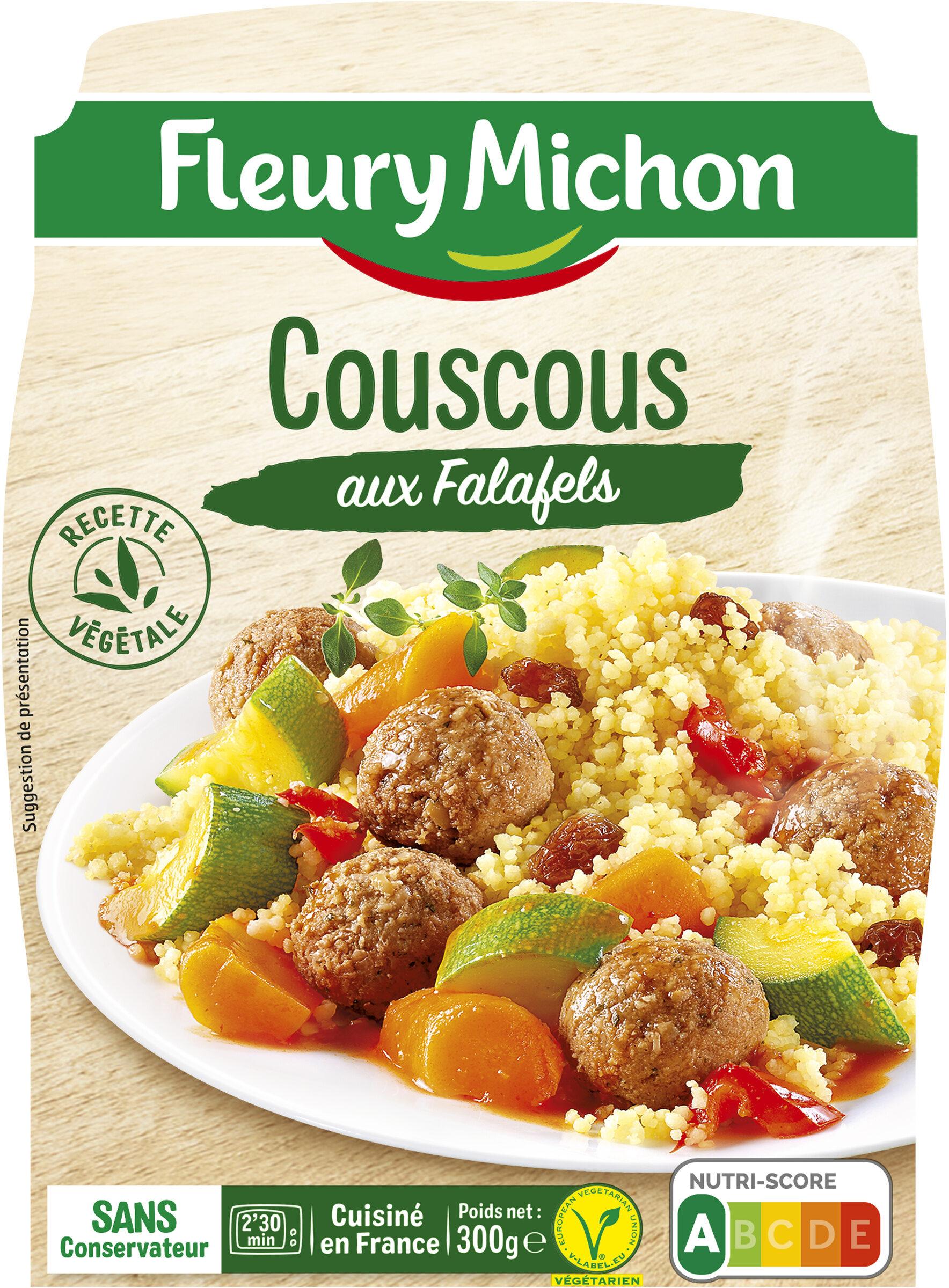 Couscous aux falafels - Product