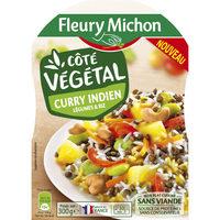 Curry indien légumes et riz - Produit - fr