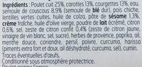 L'esprit frais poulet et semoule citronné - Ingrediënten - fr