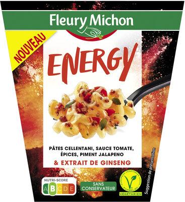 BOX ENERGY - pâtes cellentani, sauce tomate et épices, piment jalapeno et extrait de ginseng - Produit