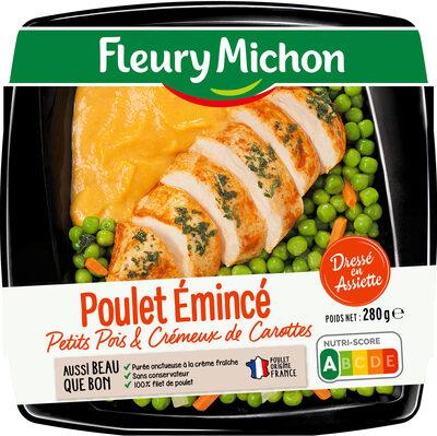 Poulet émincé petits pois & crémeux de carottes - Produit - fr