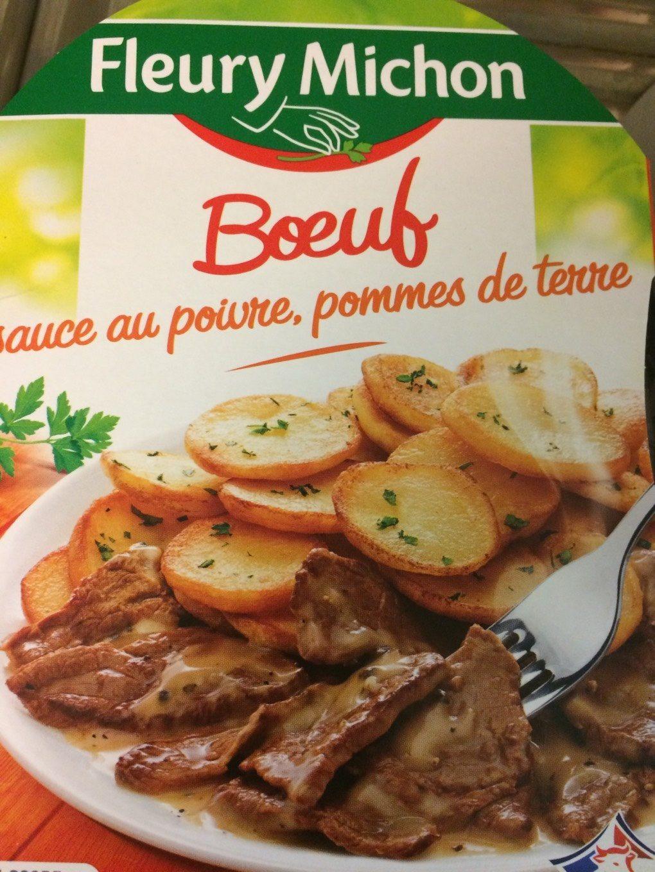 Boeuf sauce poivre - Product - fr