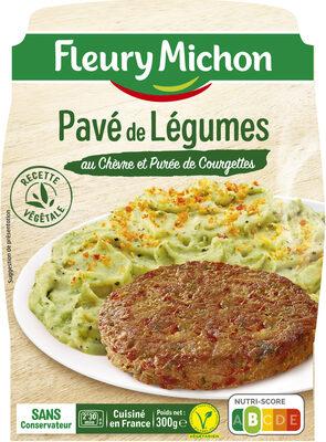 Pavé de Légumes au Chèvre et Purée de Courgettes - Produit - fr