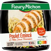 Poulet émincé & pâtes sauce parmesan - Product