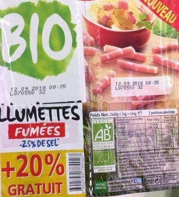 Allumettes fumees bio - Product - fr