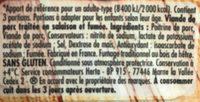 Allumettes fumees bio - Ingrediënten - fr