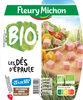 Dés d'épaule Bio - 25% de sel* - 2 x 60 g - Produit